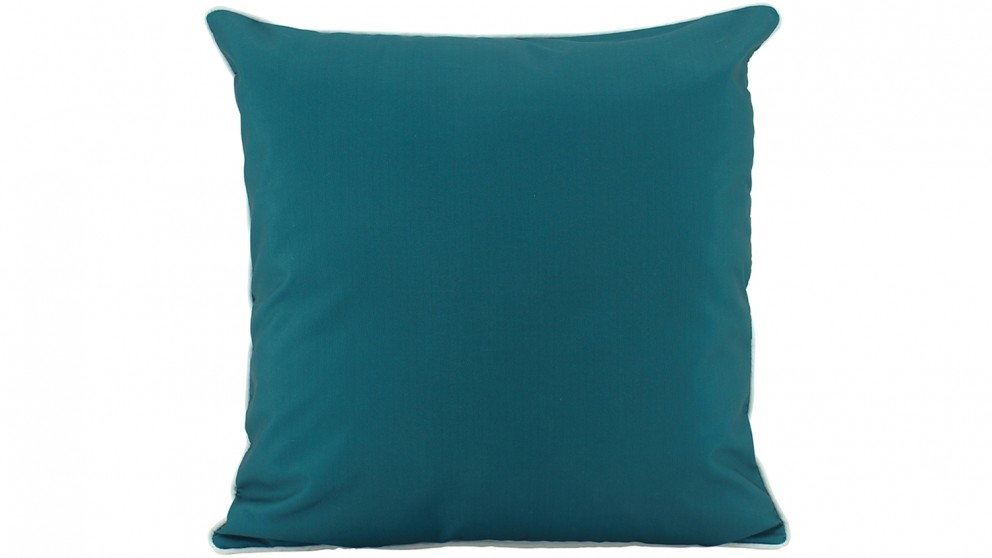 Plain Piped Outdoor Cushion - Green