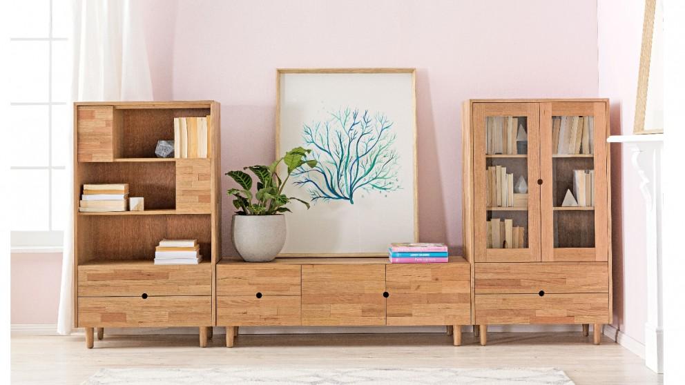 Enya 2-Drawer Bookcase