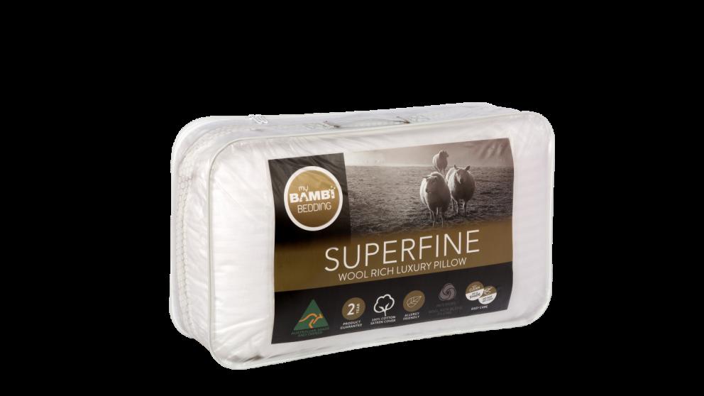 Bambi Superfine Wool Rich Pillow