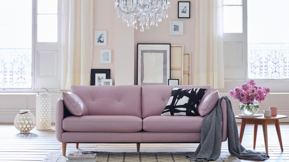 Finlay Leather Sofa
