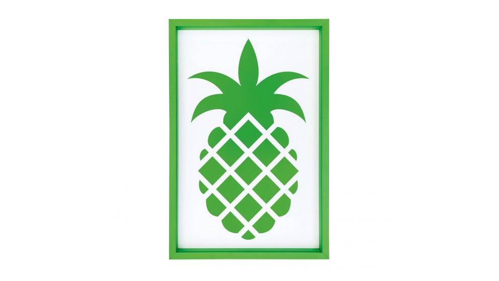 Emerald Pineapple Print