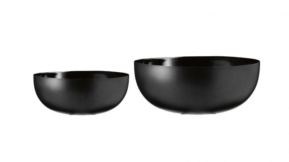Round Matte Bowl - Black