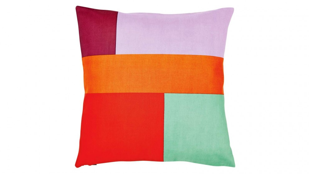 Aura Patch Cushion - Purple