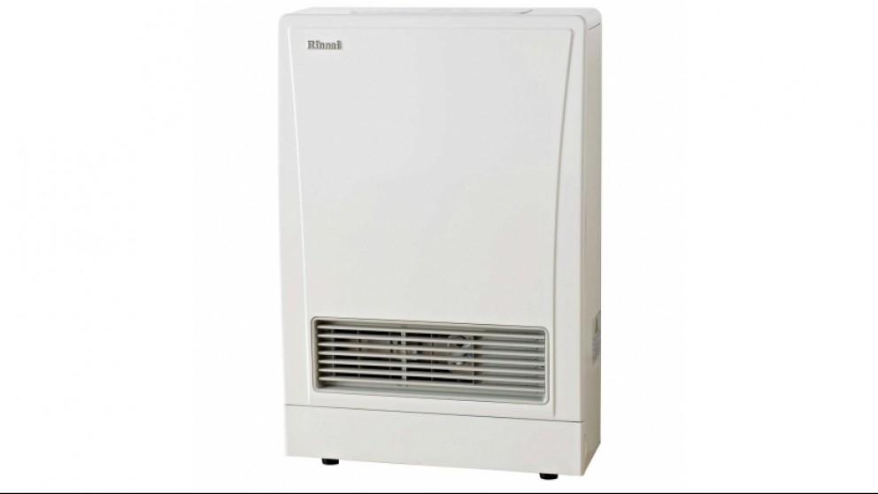Rinnai EnergySaver 309FT Flued Natural Gas Fan Heater - White