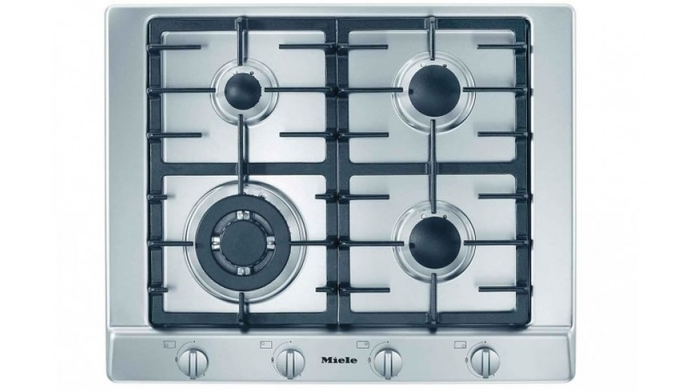 Miele 650mm 4 Burner Natural Gas Cooktop - Stainless Steel