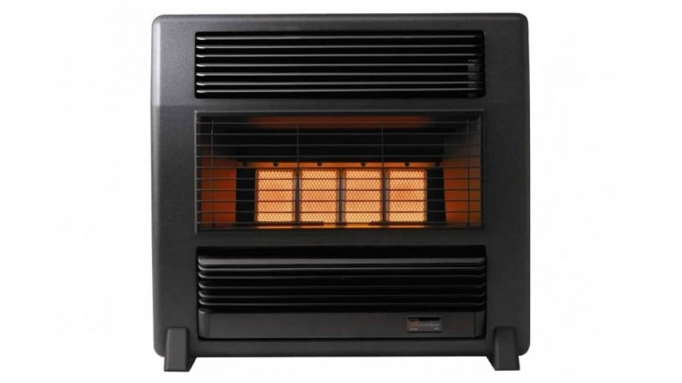 Everdure Lancer Unflued LPG Radiant Heater - Black Marble