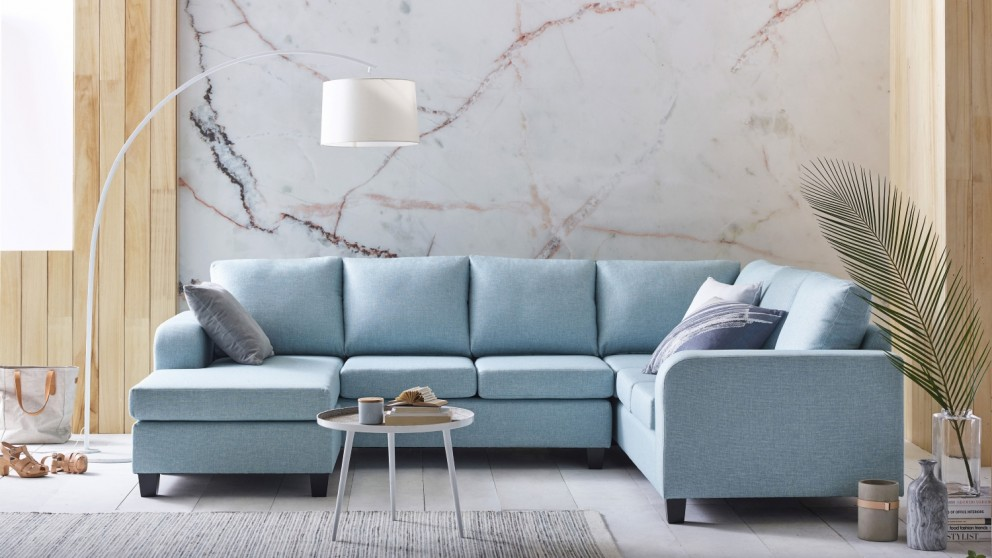 Oxford 3-Piece Fabric Modular Sofa