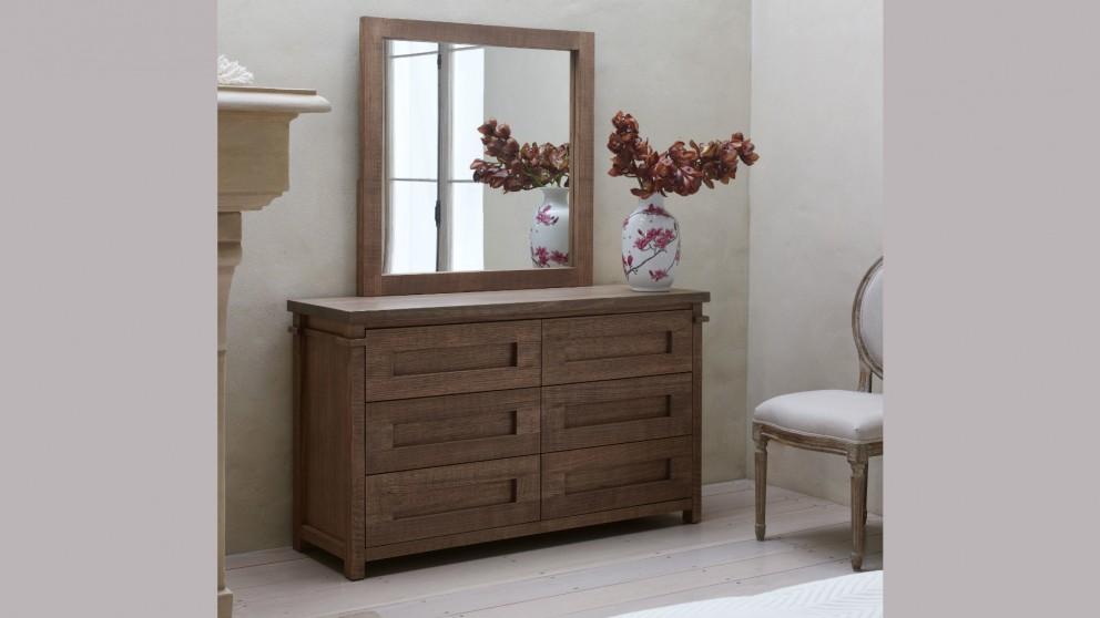 Milton 6-Drawer Dresser with Optional Mirror