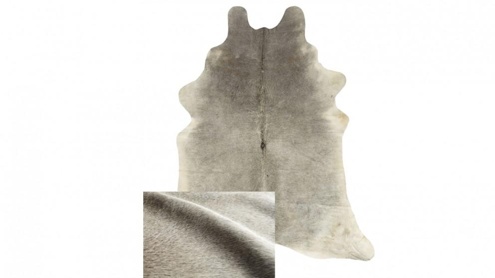 Cowhide Rug - Light Grey