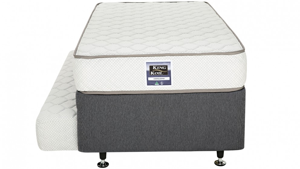 King Koil Oversleeper Ensemble with Pull Out Trundle