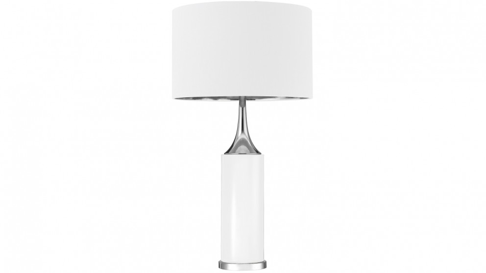 Aria Table Lamp - White