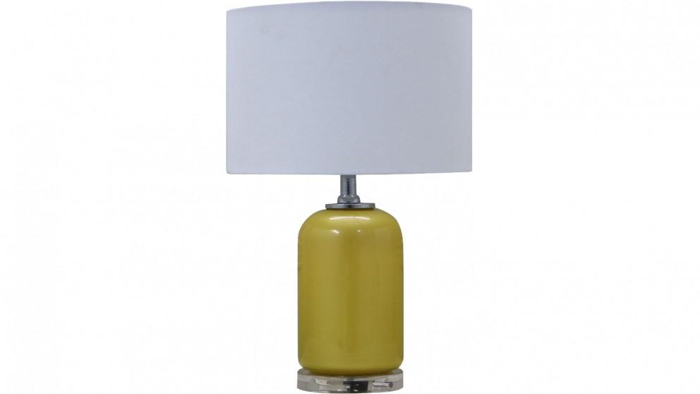 Pearl Table Lamp - Yellow