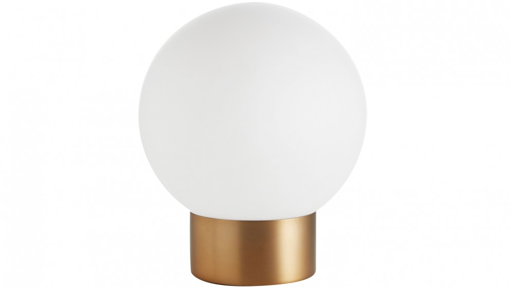Zena Frost Ball Table Lamp