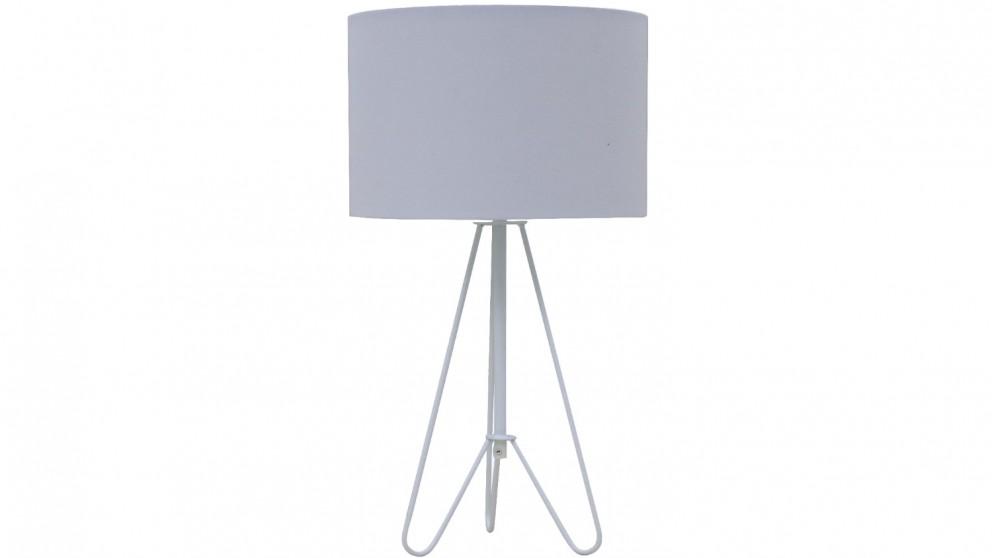 Kludo Table Lamp - White