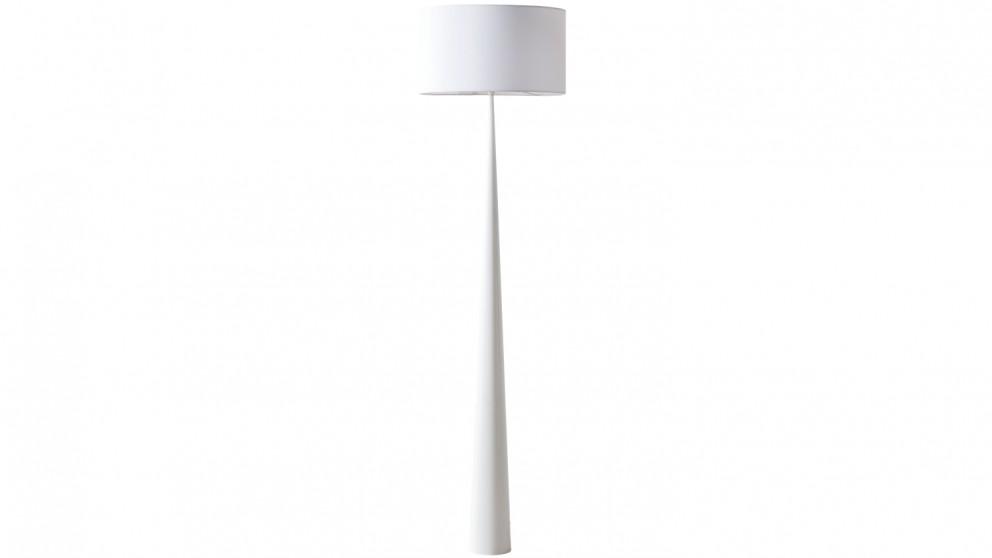 Denver Floor Lamp - White