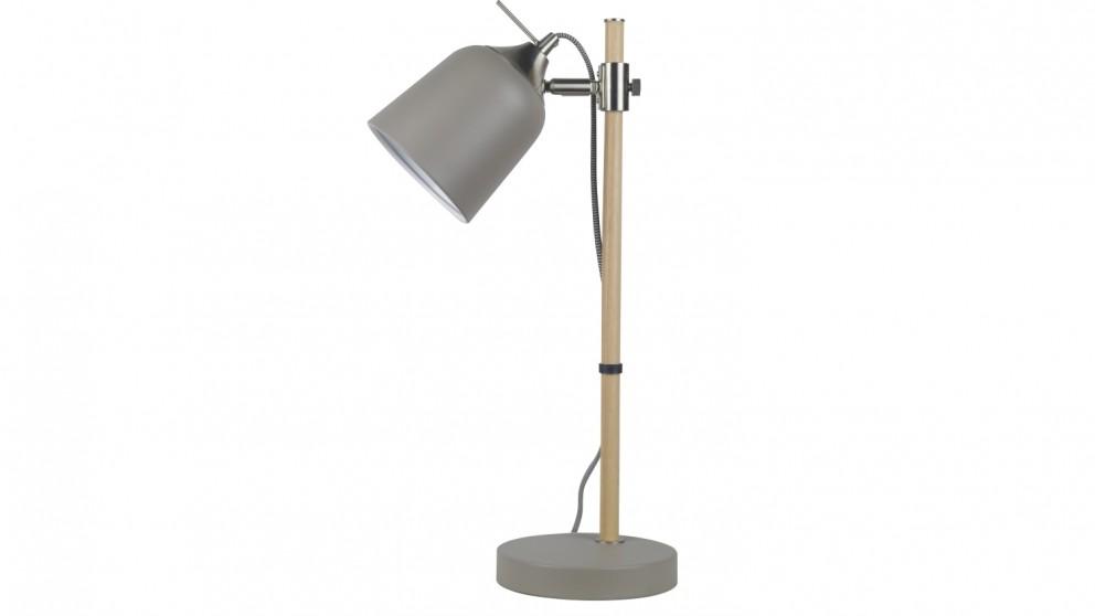 Husk Table Lamp - Ash