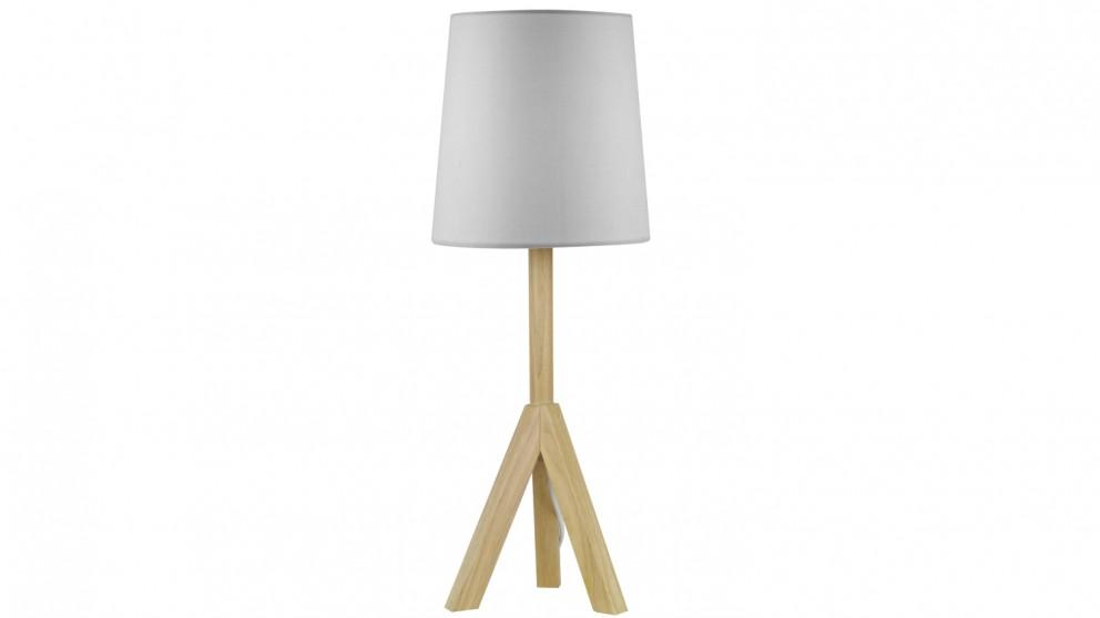 Tripod Table Lamp - White