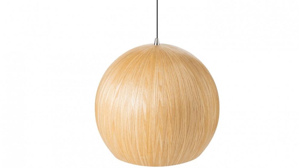 Nordic Dome Small Pendant Light - Natural