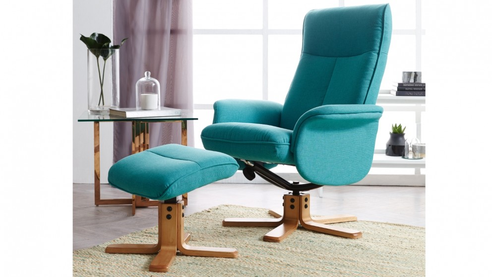 Ande Recliner with Footstool