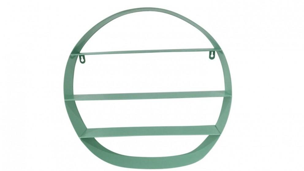 Round Wall Hanging Shelf