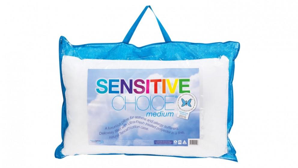 Sensitive Choice Medium Profile Pillow