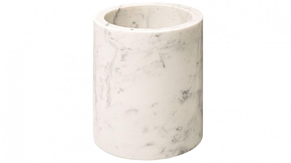 Pure Marble Tumbler - White