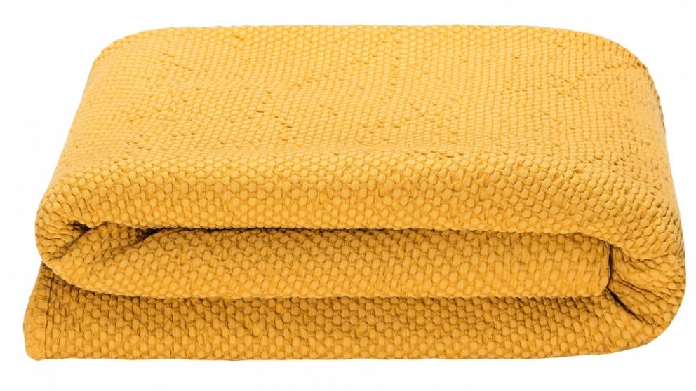 Peri Coverlet - Mustard