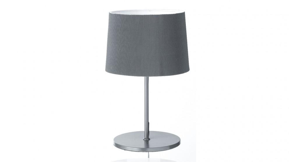Strike Table Lamp - Grey