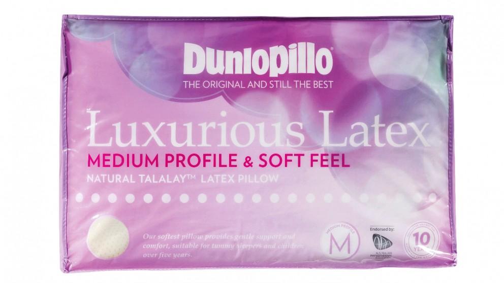 Dunlopillo Luxurious Latex Medium Soft Pillow
