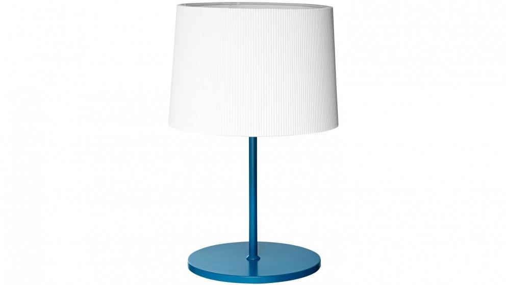 Strike Table Lamp - Petrol Blue
