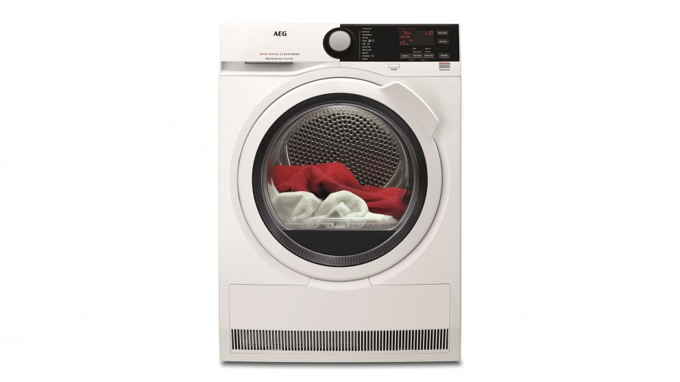 AEG 8kg Heat Pump Dryer with AbsoluteCare System