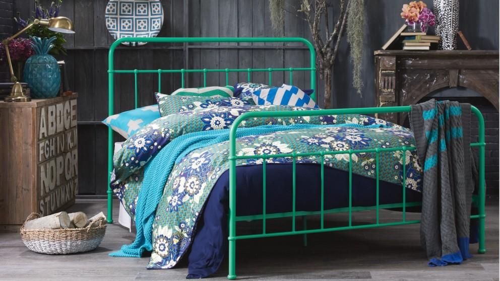 Sunday Bed Frame - Emerald Green