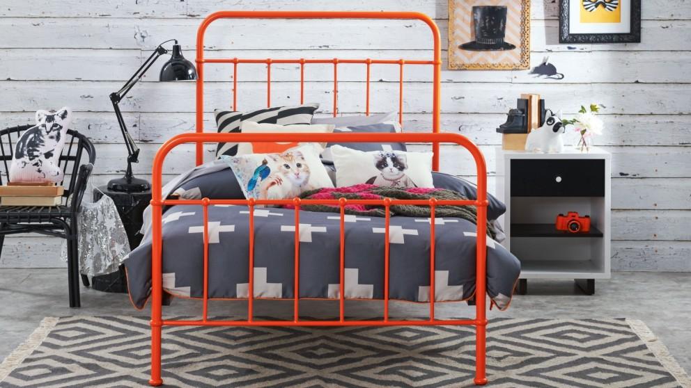 Sunday Bed Frame - Tango Orange