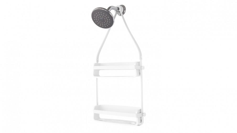 Flex Shower Caddy - White