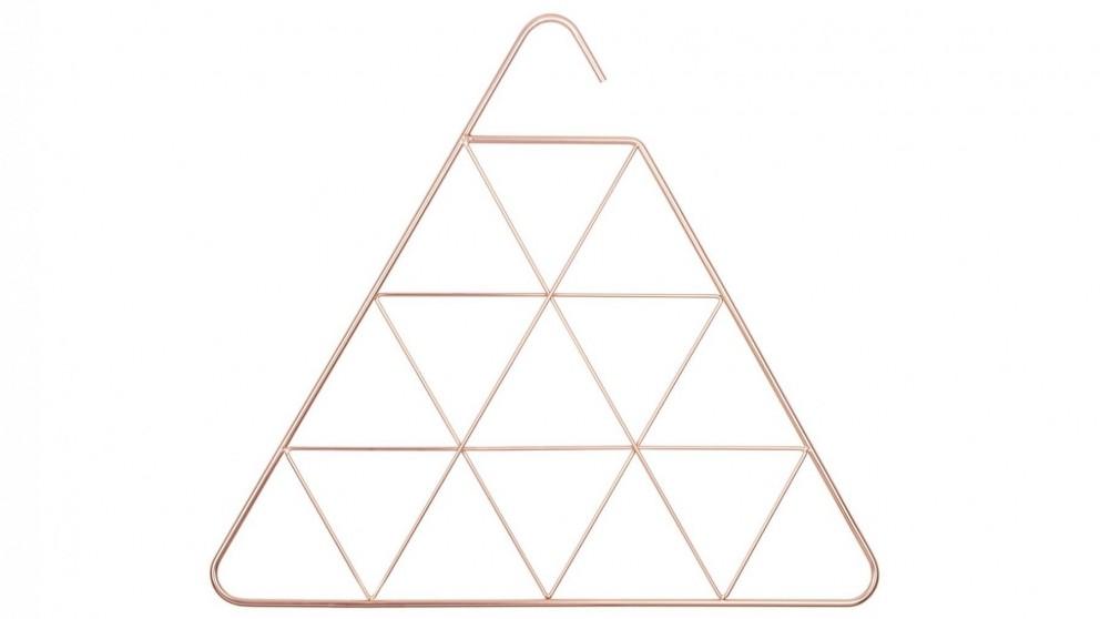 Triangle Pendant Scarf Hanger - Copper