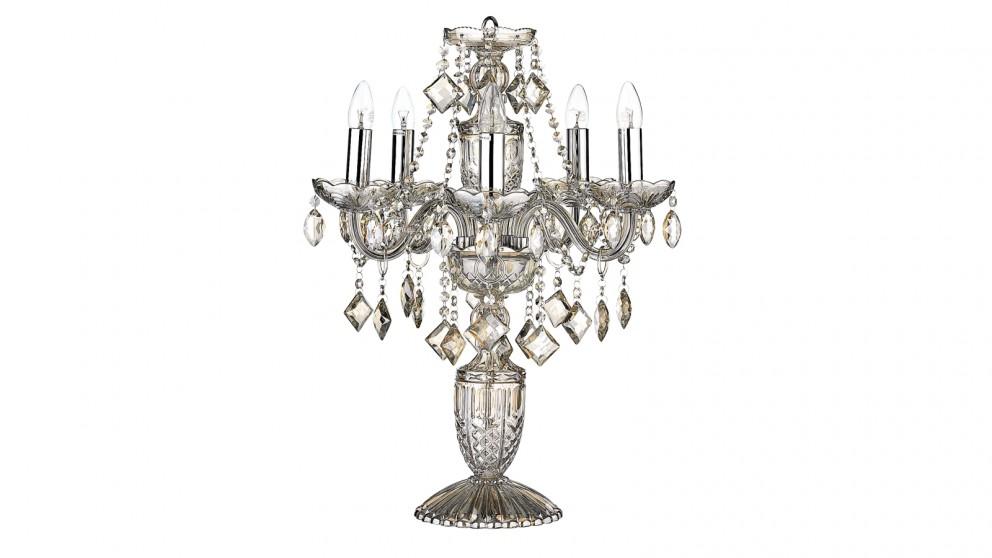 Valentine Crystal Lamp - Champagne