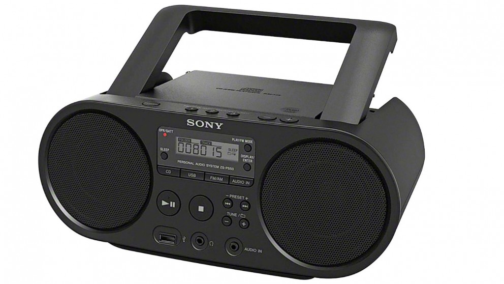Sony ZS-PS50 Portable CD Boombox