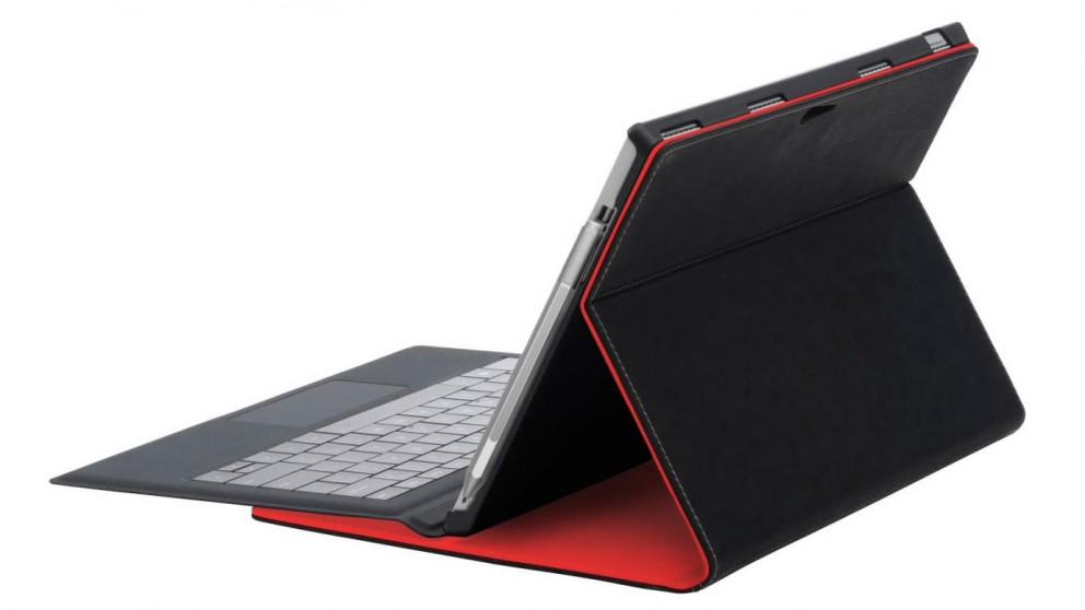 NVS Folio Stand for Microsoft Surface Pro 4 - Red