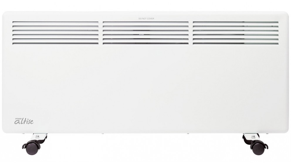 Omega Altise 2200W Panel Convection Heater with LED Display - White