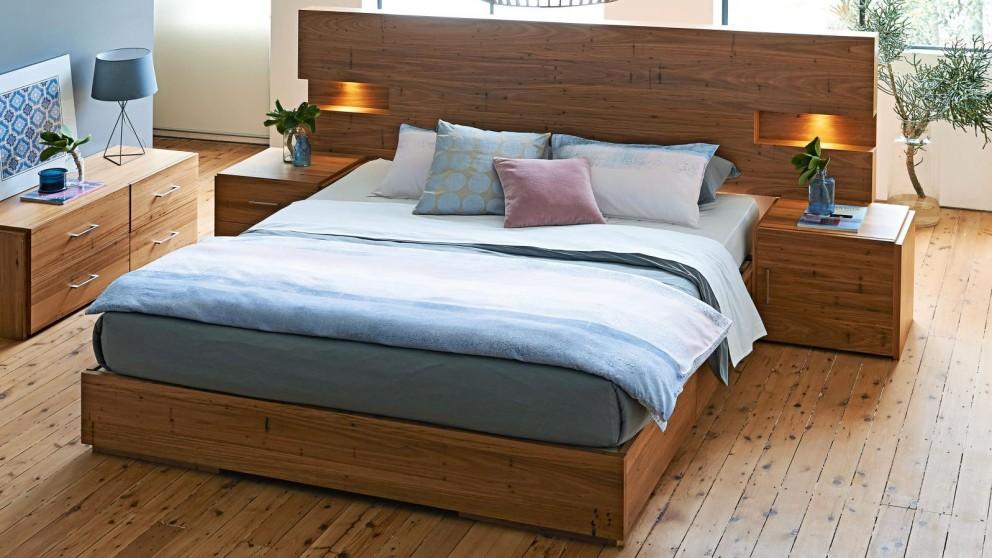 Amelie Bed Base with Slats