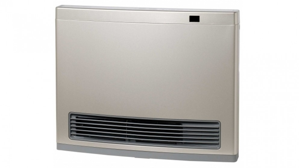 Rinnai Avenger 25 Unflued LPG Convector Heater with 3m Hose - Champagne