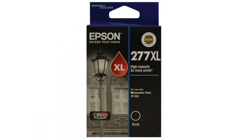 Epson 277XL High Capacity Claria Photo HD Ink Cartridge - Black