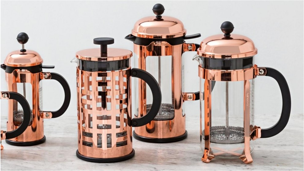 Bodum Chambord 8 Cup Coffee Maker - Copper