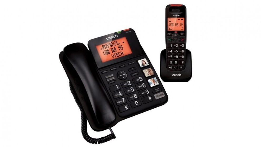 VTech 16650 Dect6.0 Corded and Cordless Phone
