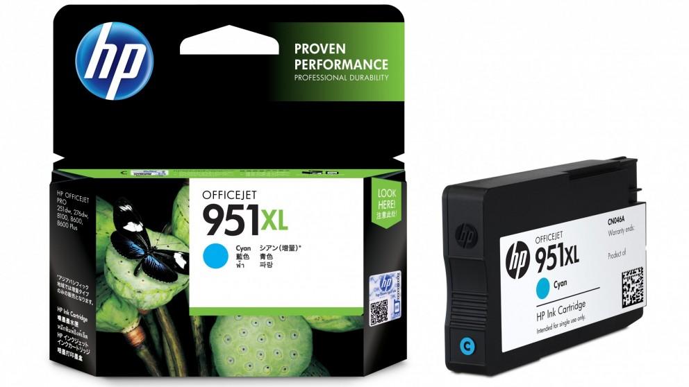 HP 951 XL Cyan Officejet Ink Cartridge