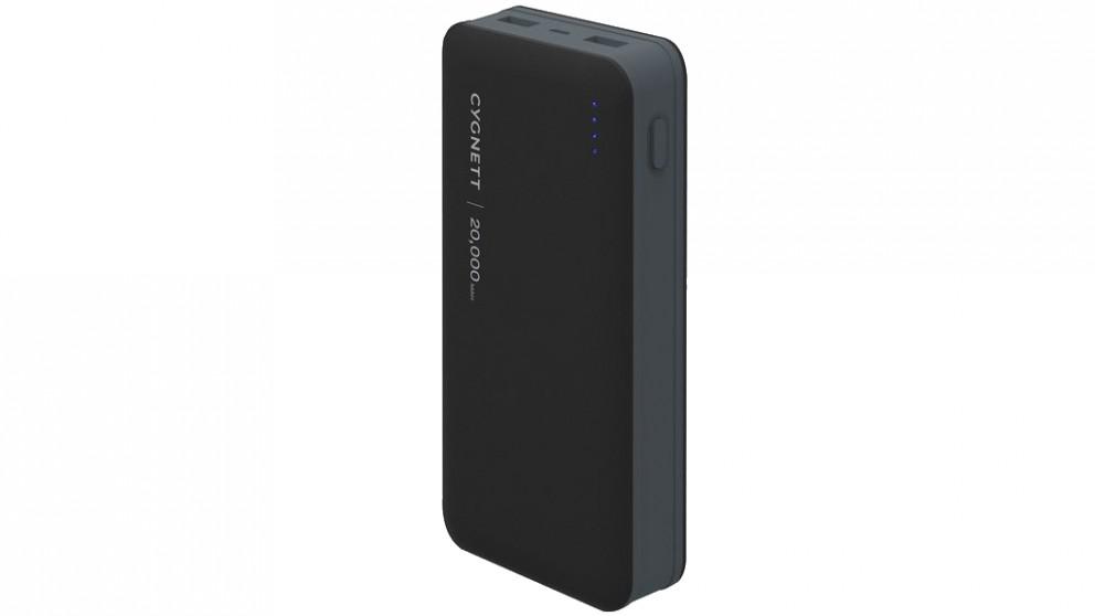 Cygnett ChargeUp Ultra 20000mAh Power Bank - Black