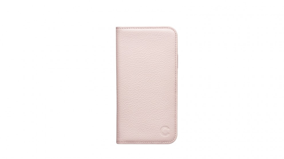 Cygnett CitiWallet Premium Leather Case for iPhone X - Pink Sand
