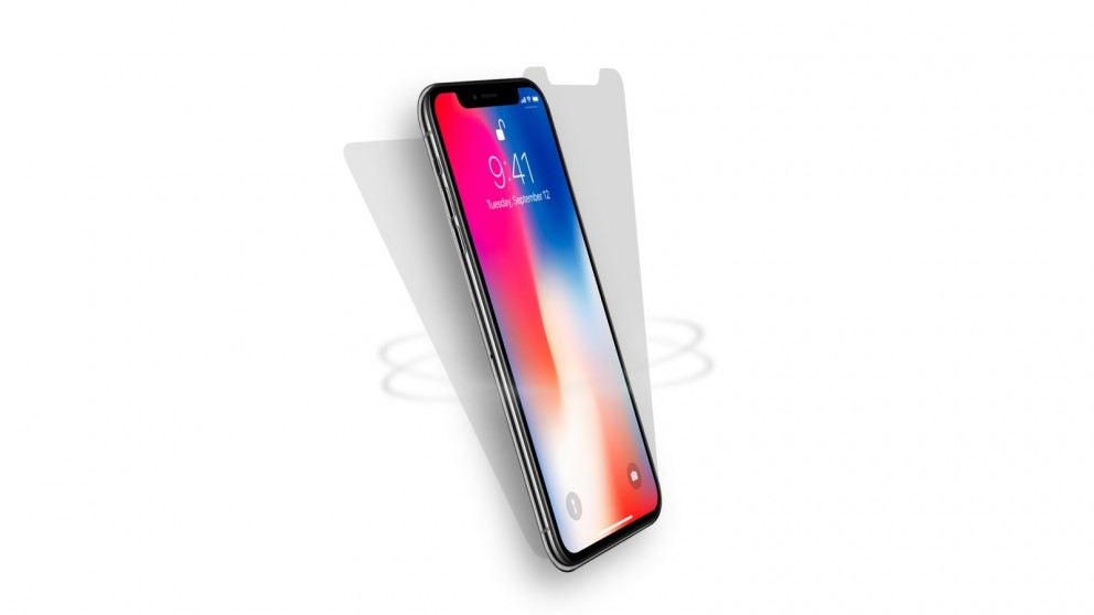 Cygnett Halo Shock Absorbing Front/Back Screen Protector for iPhone X