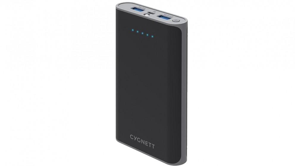 Cygnett ChargeUp Rapid 15000mAh Power Bank - Grey/Black