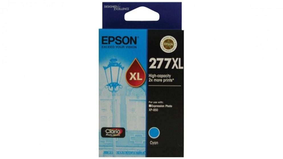 Epson 277XL High Capacity Claria Photo HD Ink Cartridge - Cyan